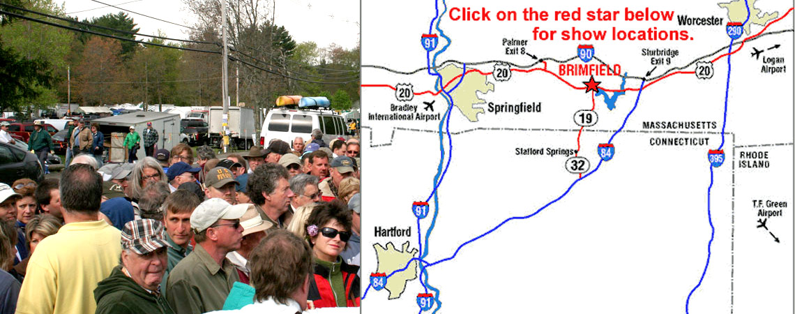 Directions to Brimfield Flea Market