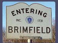 Entering Brimfield